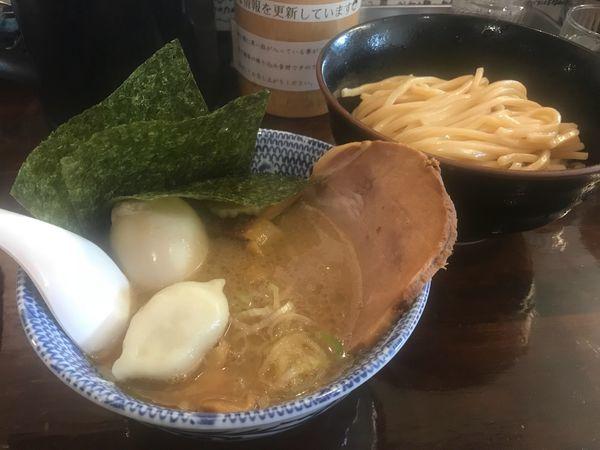 「全部入りつけ麺 並」@つけ麺 紅葉の写真