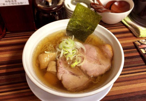「昔懐かしのらぁめん(650円)醤油・細麺」@めん処 倖佳の写真