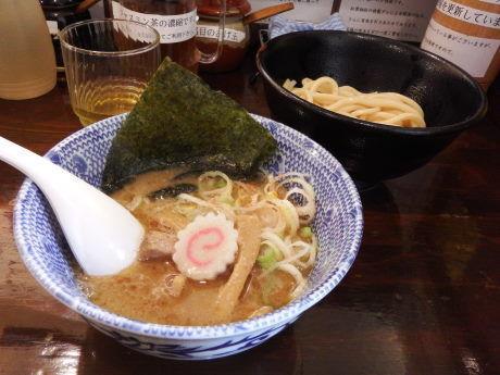「つけ麺(ハーフ)130g」@つけ麺 紅葉の写真