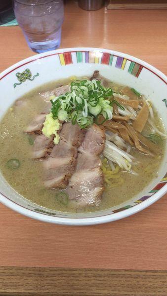 「味噌チャーシュー麺」@麺屋 彩未の写真