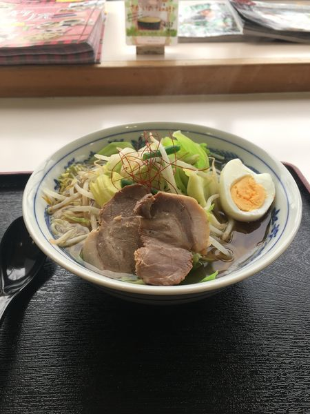 「野菜たっぷりタンメン650円」@道の駅 さかいの写真