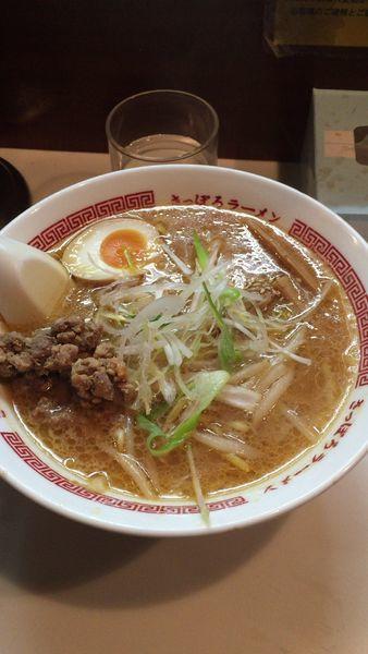 「味噌ラーメン」@サッポロラーメン ひぐま 横丁店の写真