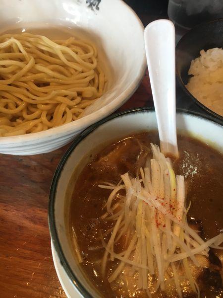 「極旨カレーつけ¥800+ライス¥150」@大鶴製麺処 謹製 親富孝の写真