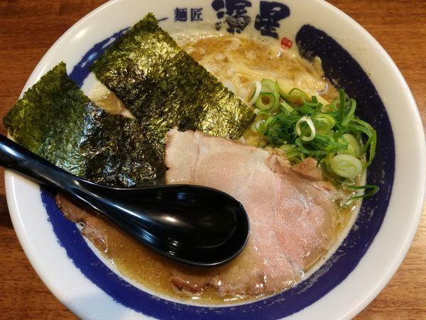 「濃厚煮干しそば+ライス(無料)」@濃厚煮干しそば 麺匠 濱星 日吉店の写真