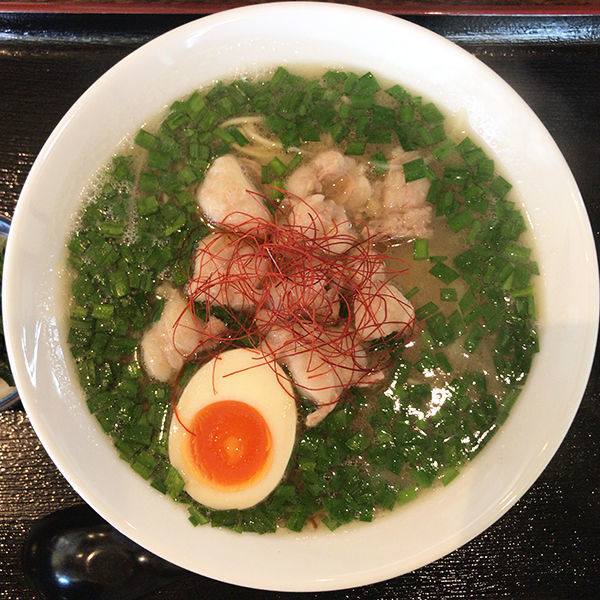 「宮古牛ホル麺」@麺屋 サマー太陽の写真