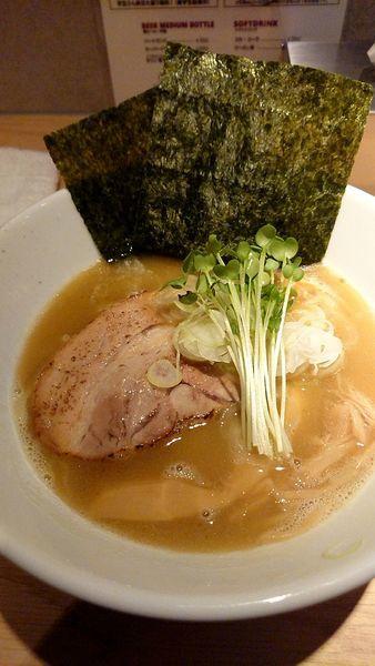 「醤油ラーメン」@杏と桜の写真