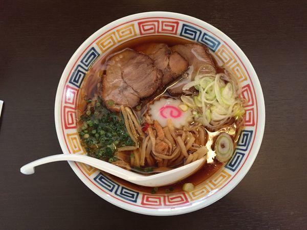 「昭和の中華そば」@拉麺 時代遅れの写真
