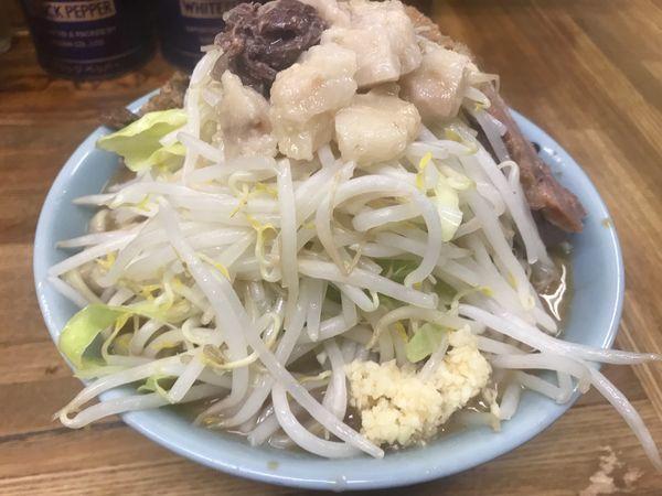 「小ラーメン 豚入り」@ラーメン二郎 新小金井街道店の写真