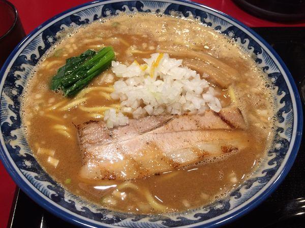 「魚介味噌らーめん」@麺匠 佐蔵 FUBUKIの写真