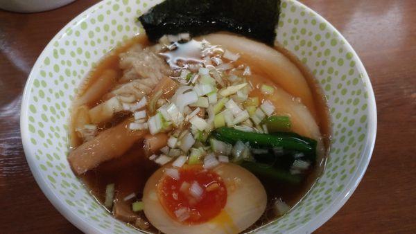 「N麺(醤油)」@らー麺 Nの写真