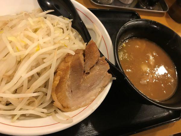 「つけ麺 チャーシュー1枚」@火の豚 東武動物公園店の写真