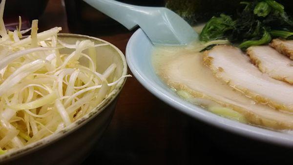 「ネギチャーシュー麺  塩」@ラーメン三國家の写真