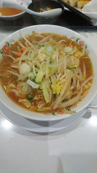 「野菜煮込みラーメン」@餃子の王将 石川町店の写真