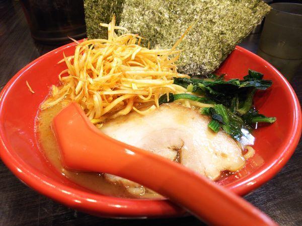 「味噌豚骨&辛ネギ」@富士家系 直壱家の写真