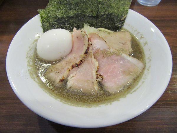 「特製煮干し中華蕎麦(950円)」@煮干し中華蕎麦 山崎の写真