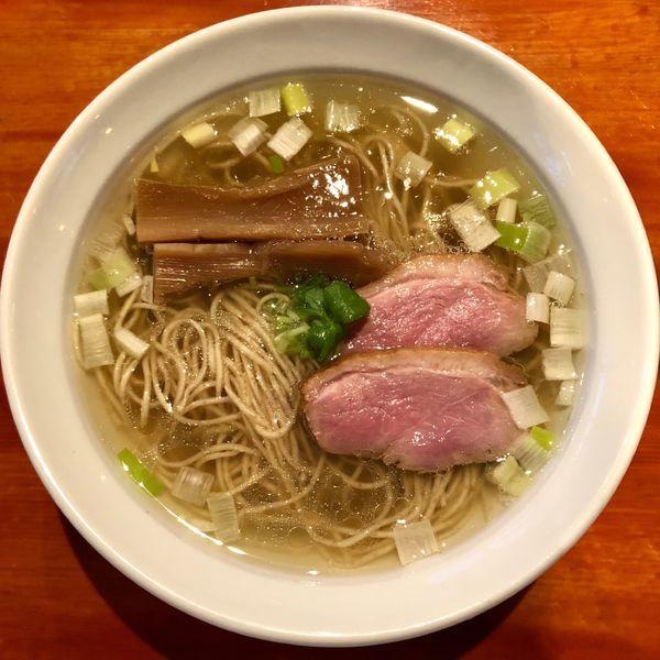 「土佐の鴨塩らぁ麺 (800円)」@夜須製麺所の写真