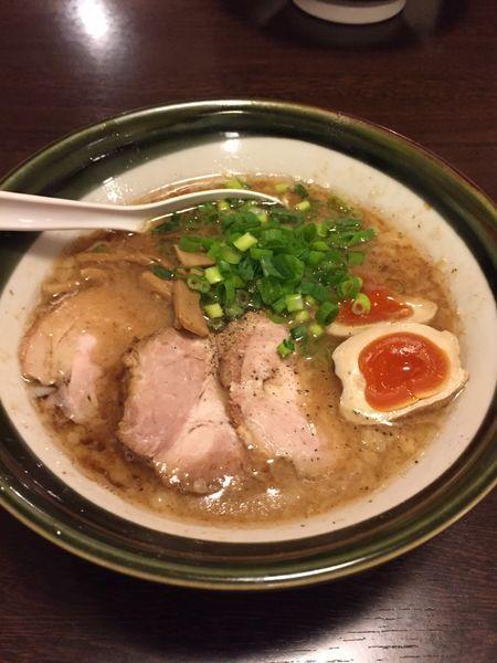 「濃厚ラーメン」@麺処ほおずきの写真