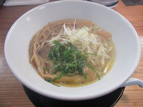 「鶏塩(700円)」@麺蔵 あつおの写真