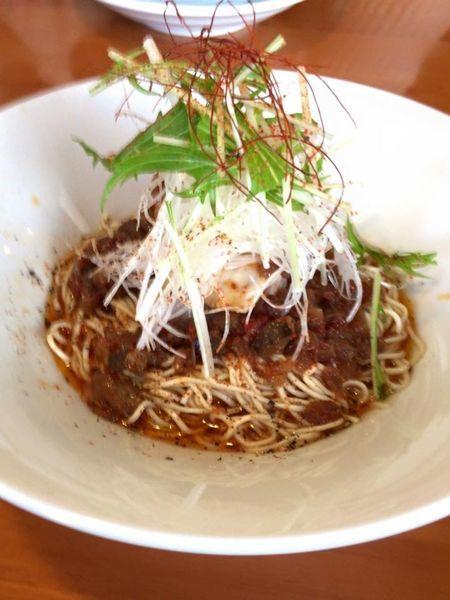 「菜彩麺」@らーめん専門 うしおととりの写真