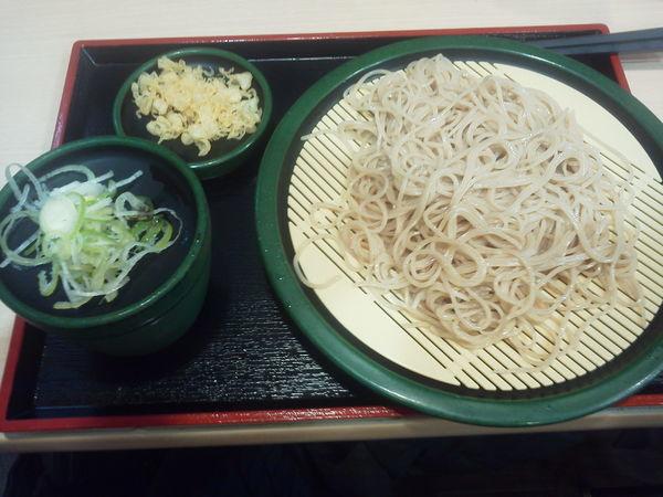 「もりそば 320円」@ゆで太郎 神田司町店の写真