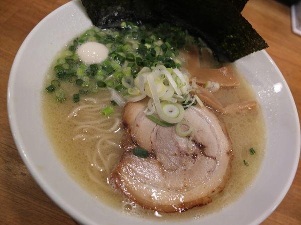「丸鶏白湯(並・塩)」@一合舎 高崎店の写真
