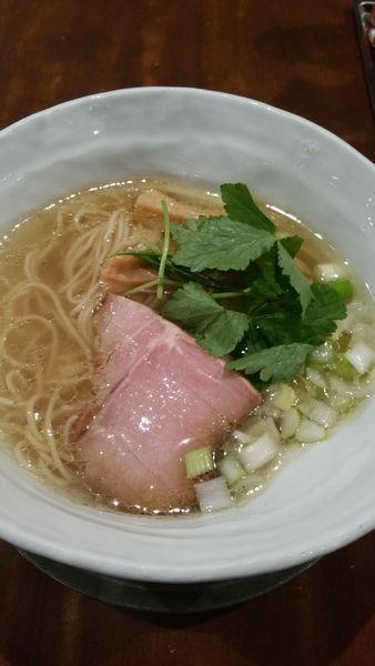 「塩らぁ麺」@卓朗商店の写真