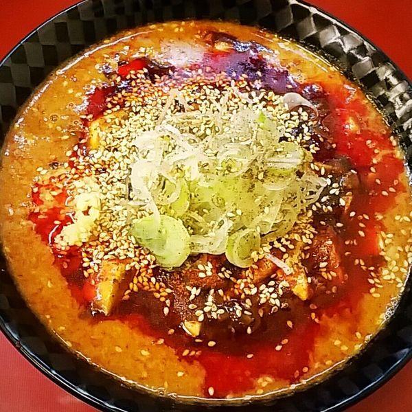「ゴママーボー麺(激辛)980円」@中華そば 華丸の写真