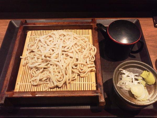 「もりそば 330円」@十割蕎麦 さ竹の写真