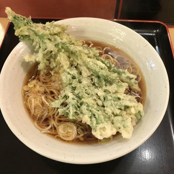 「春菊天(¥380)」@梅もと 多摩川店の写真