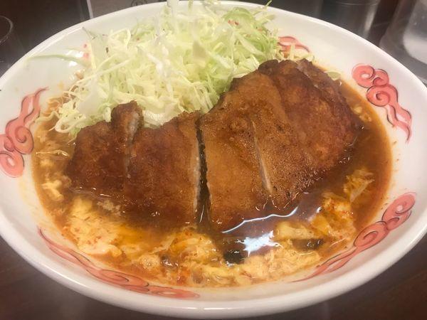 「赤パーコー担々麺」@中華料理 五十番の写真