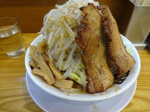 「特製ふじそば 大盛(野菜増し)880円」@ブッチャー 沼津店の写真