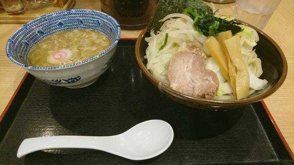 「野菜つけ麺730円」@舎鈴 亀戸東口店の写真