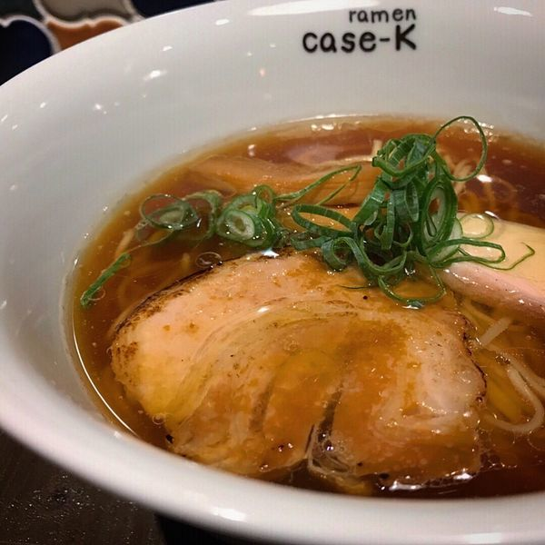 「とりのらぁめん醤油…750円」@ramen case-Kの写真
