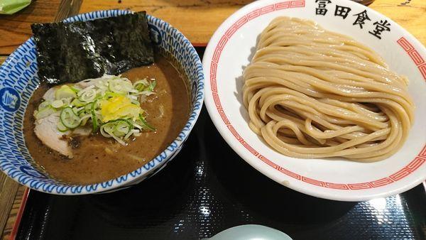 「濃厚つけ麺(850円)」@松戸中華そば 富田食堂の写真