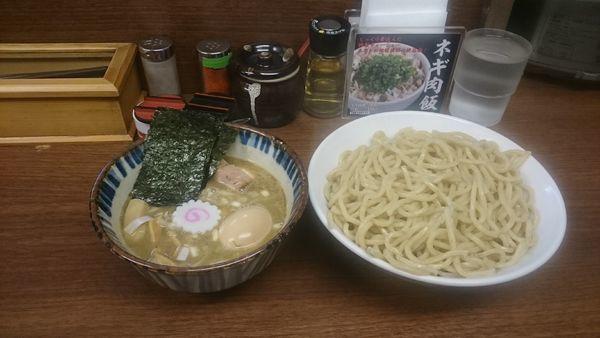 「特製煮番搾り・大盛 ¥1250」@つけめん 三三㐂の写真