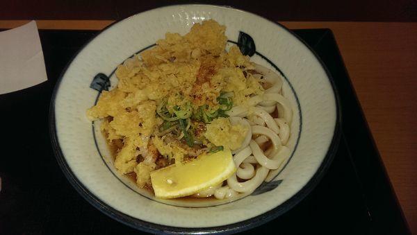 「ぶっかけ、冷」@讃岐うどん たら福本舗 IKE 麺 KITCHEN店の写真