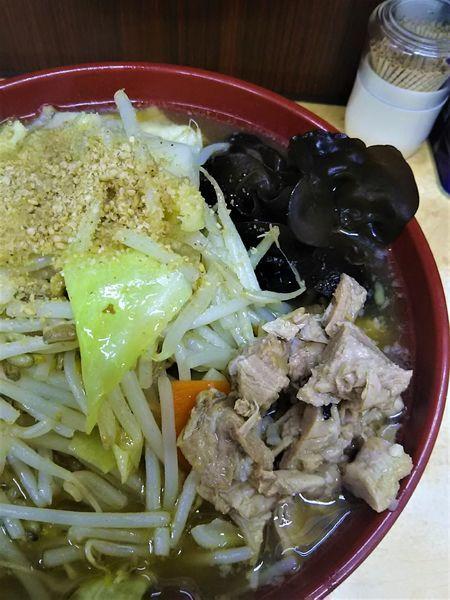 「野菜ラーメン(硬め)¥830+麺増量¥0」@イレブンフーズ  源流の写真