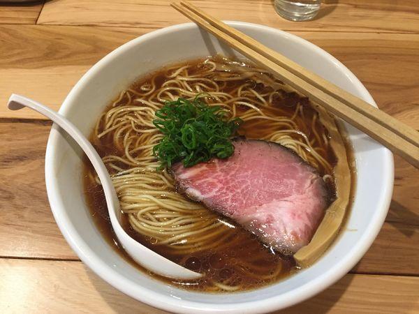 「【限定】田中式醤油らーめんイベリコ豚焼豚780円+大盛100」@らーめん カッパハウスの写真