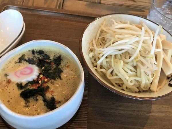 「【限定】旨辛豚キムカレーつけそば」@Omotenashi Noodles よこじの写真