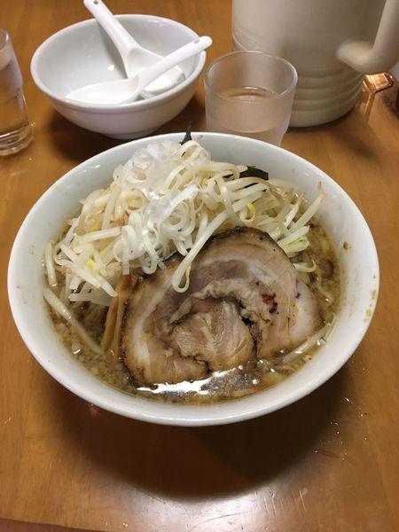 「醤油こってり太麺」@麺の蔵の写真