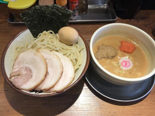 「魚介豚骨特製味噌つけ麺」@麺屋 ふじ田の写真