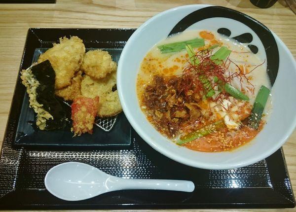 「胡麻担々麺  1080円」@天丼・らぁ麺 ハゲ天の写真
