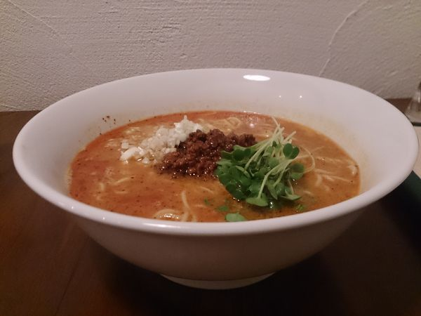 「担々麺」@四川料理 楽山の写真