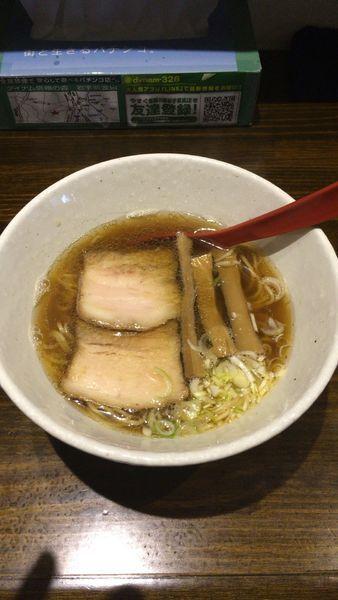 「魚ダシそば 650円」@拉麺太极の写真