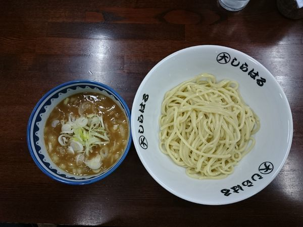 「鴨つけ麺 並 650円」@◯大しらはるの写真