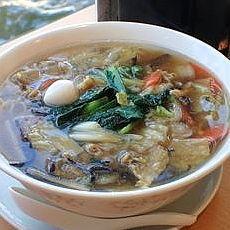 「五目スープそば780円+大盛100円」@中華四川料理 飛鳥の写真