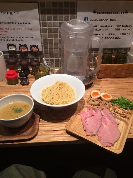 「特製鶏つけソバ」@NOODLE STOCK 鶴おかの写真