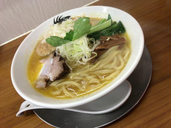 「空前の帆立ペースト スペシャル」@ラーメン専科 竹末食堂の写真