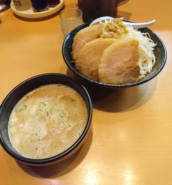 「3月限定 ブッタンつけ麺 大盛」@常勝軒 本庄店の写真