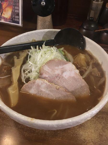 「焙煎味噌しょうが850円」@みのや すすきの本店の写真